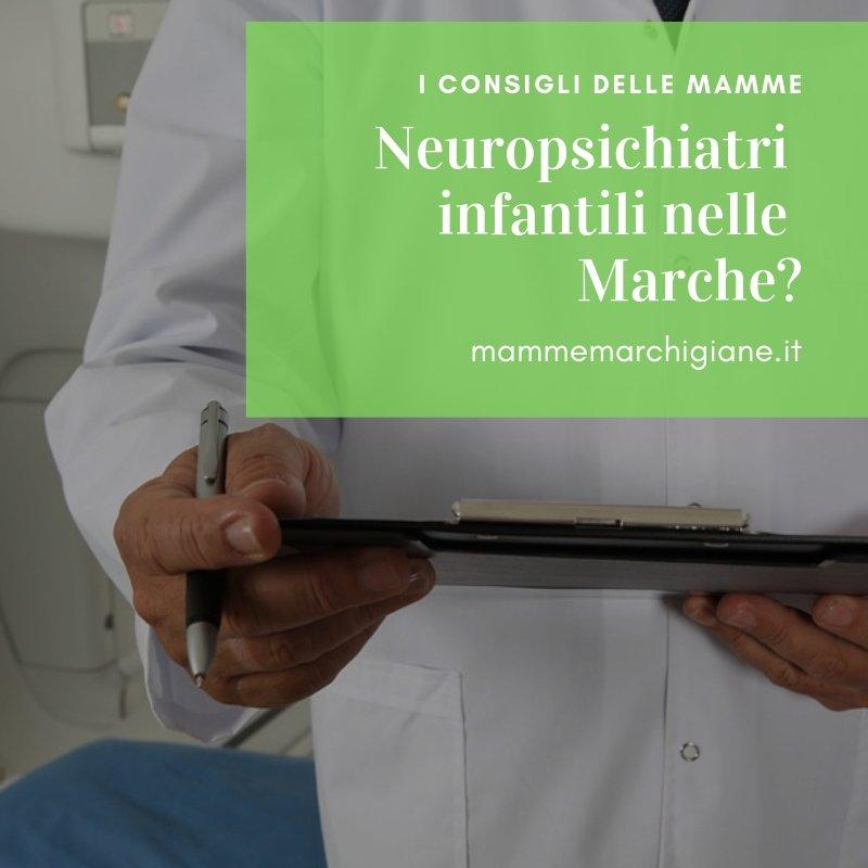 neuropsichiatri infantili nelle Marche