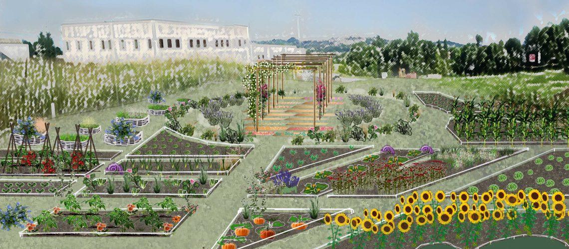 Come sarà l'orto-giardino