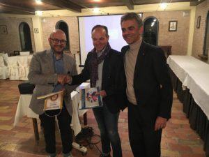 dott. Carlo Zagoreo serata al Rotary Club di Macerata