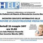 disostruzione pediatrica san severino marche