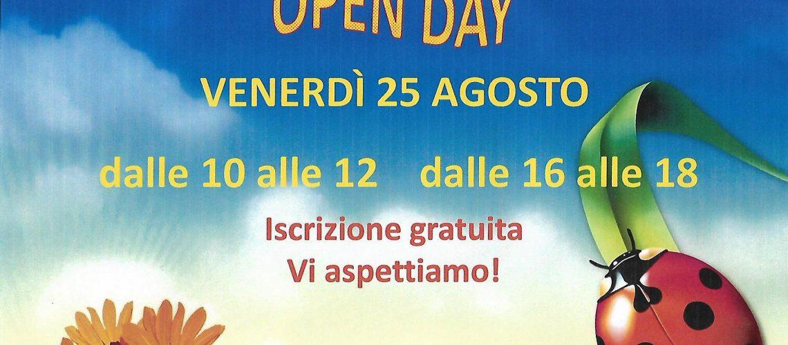 open day tribù delle coccinelle macerata