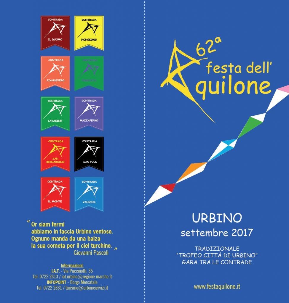 Festa dell'Aquilone 2017 Urbino
