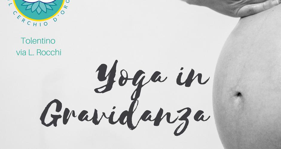 Yoga in gravidanza cerchio d'oro tolentino