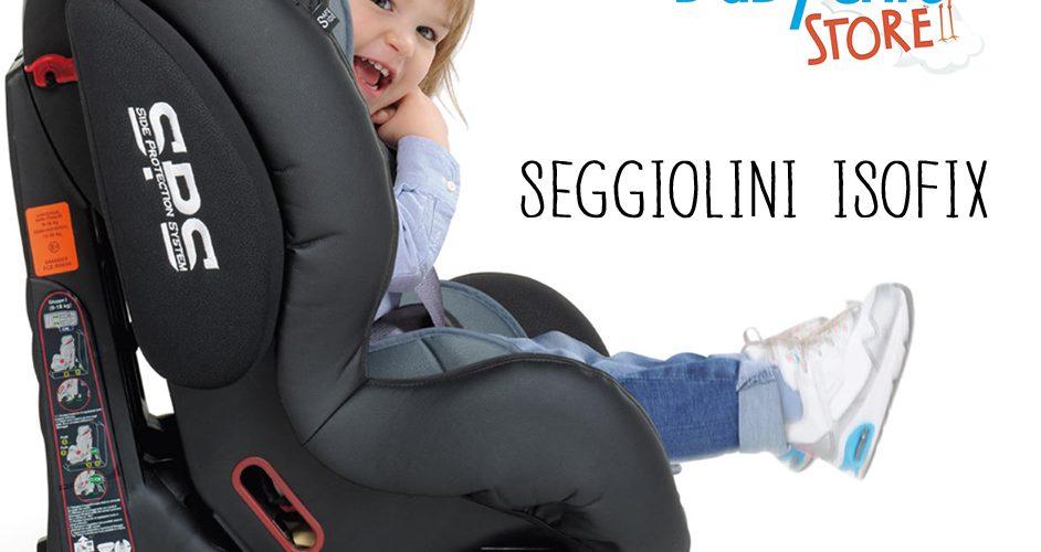 seggiolini auto isofix