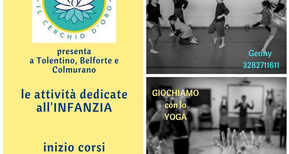 yoga per bambini Tolentino