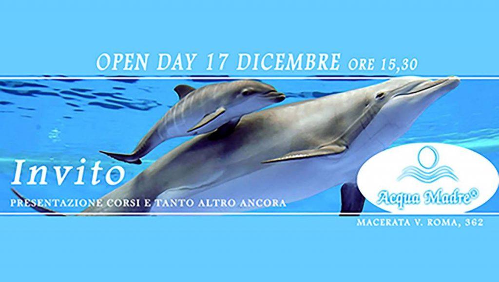 open day acqua madre macerata