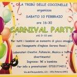 festa di carnevale per bambini Trib delle Coccinelle