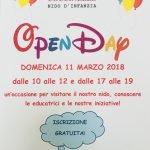 open day nido coccinelle marzo 2018