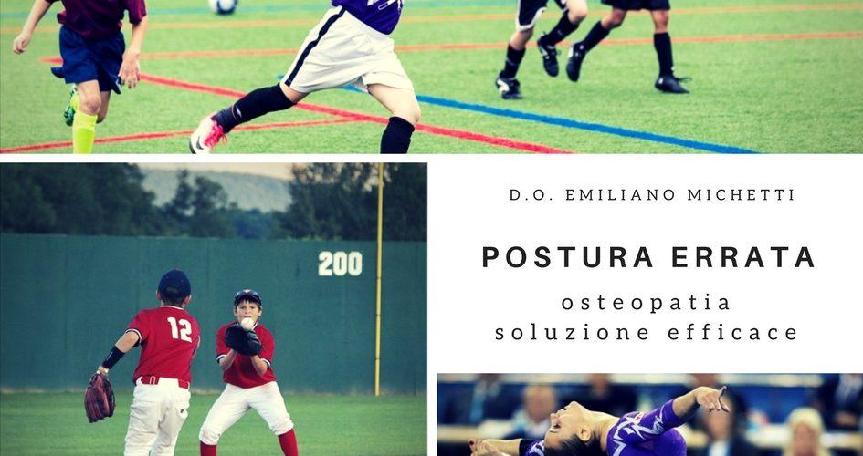 postura errata studio di emiliano michetti osteopata