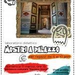 Mostri a palazzo Montecassiano locandina