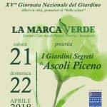 locandina La Marca Verde aprile