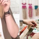 collana spilla workshop telaio