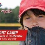 sport camp baseball softball