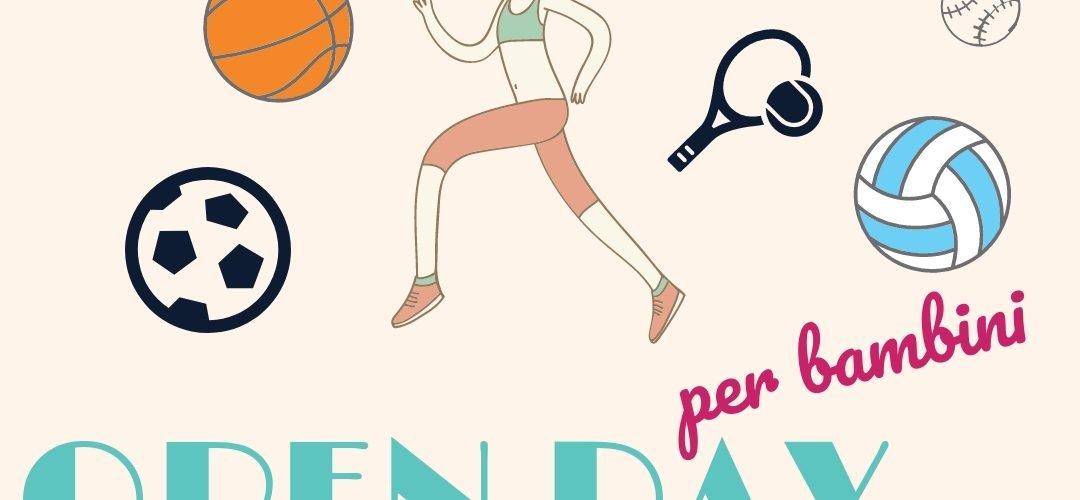 open day sportivi per bambini Marche