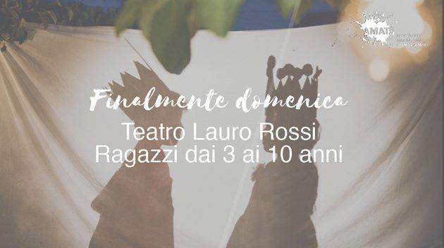 Finalmente domenica Lauro Rossi Macerata stagione teatrale
