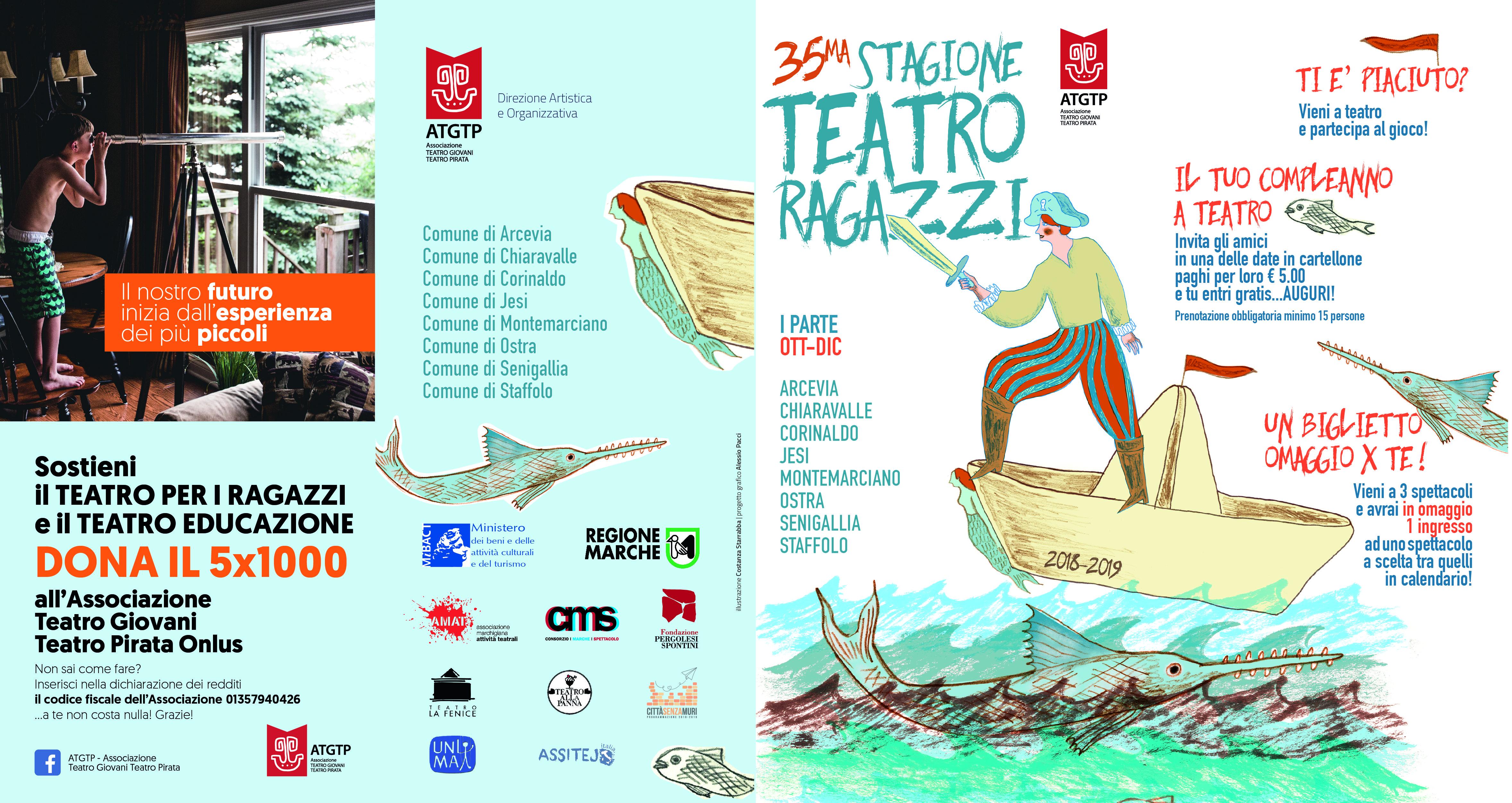 Teatro bambini e ragazzi 2018 2019 cartellone ancona
