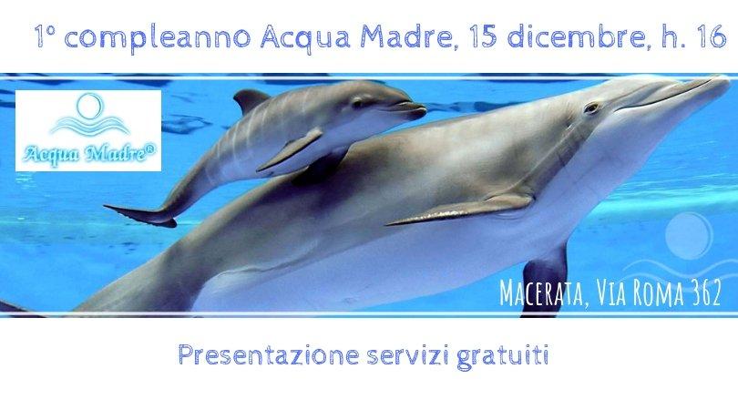 compleanno Acquamadre centro maternità e nascita Macerata