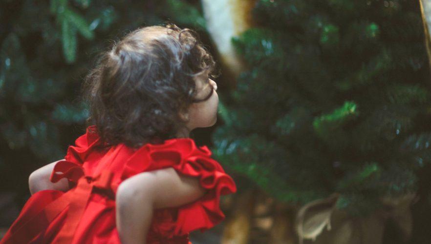 outfit di natale abitino rosso bambina giulia mantelline