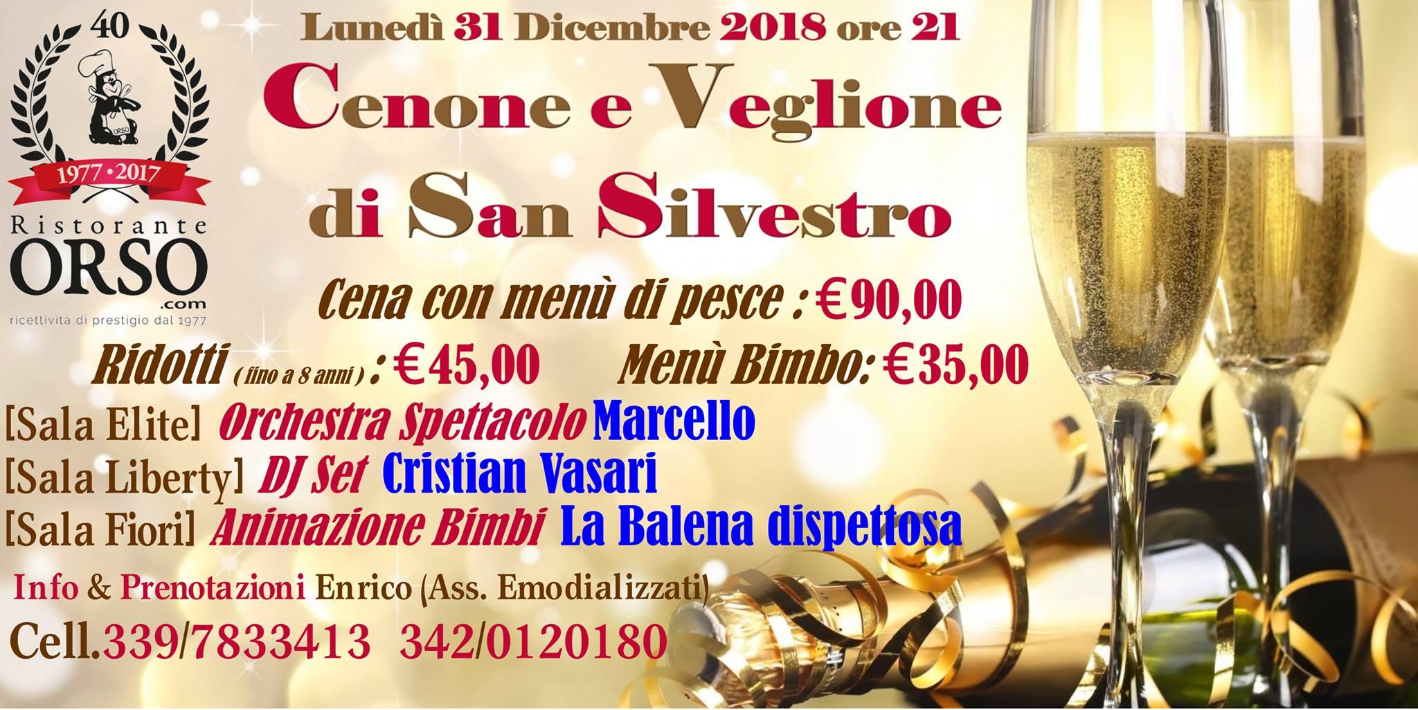 capodanno 2019 ristorante orso civitanova marche