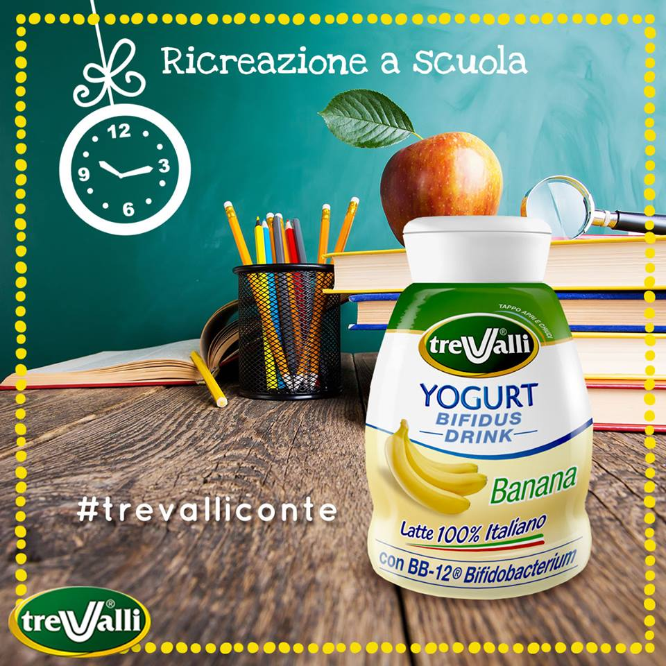 yogurt tre valli merenda