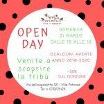open day tribù delle coccinelle