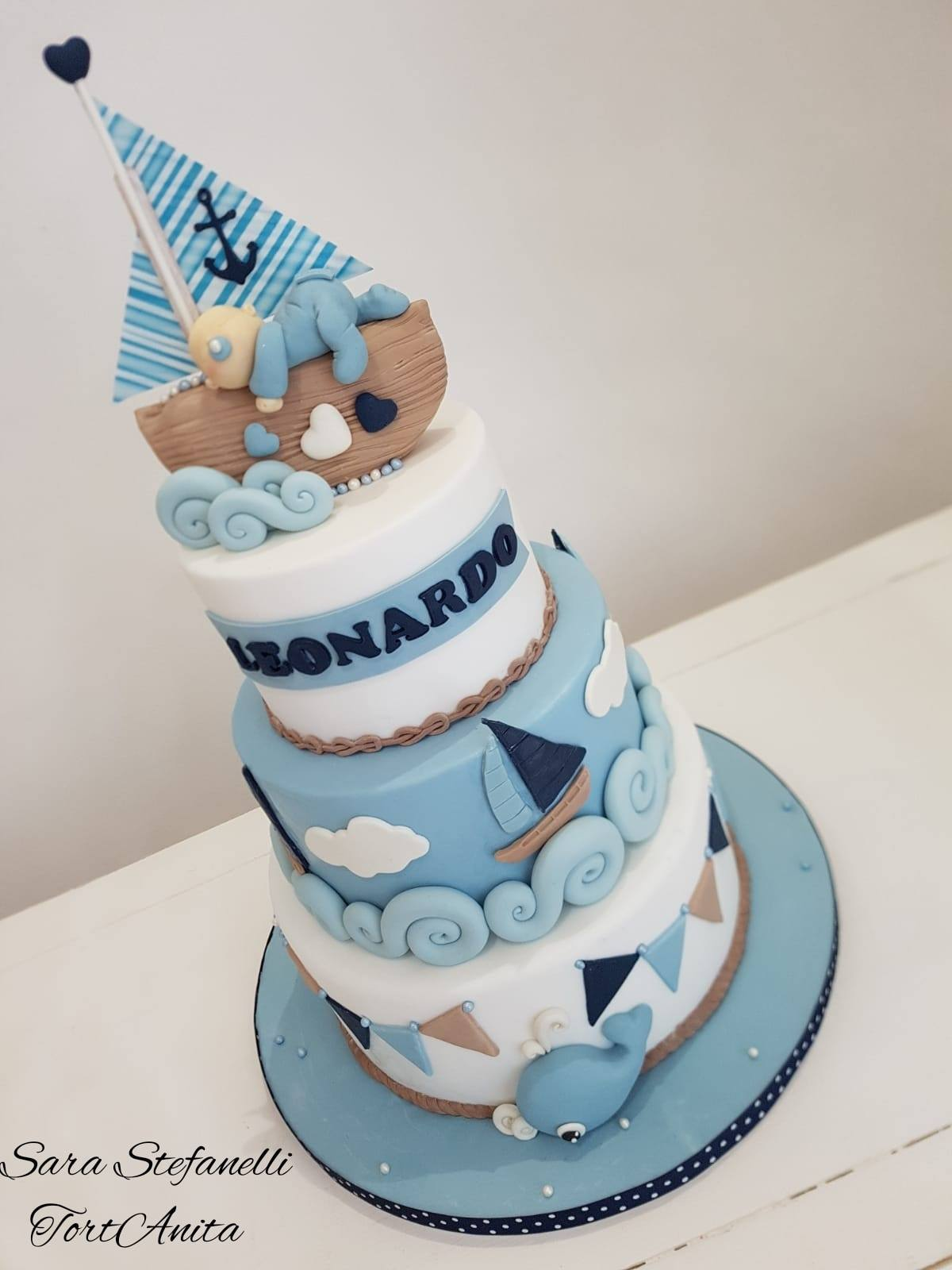 sara tortanita cake design artistico