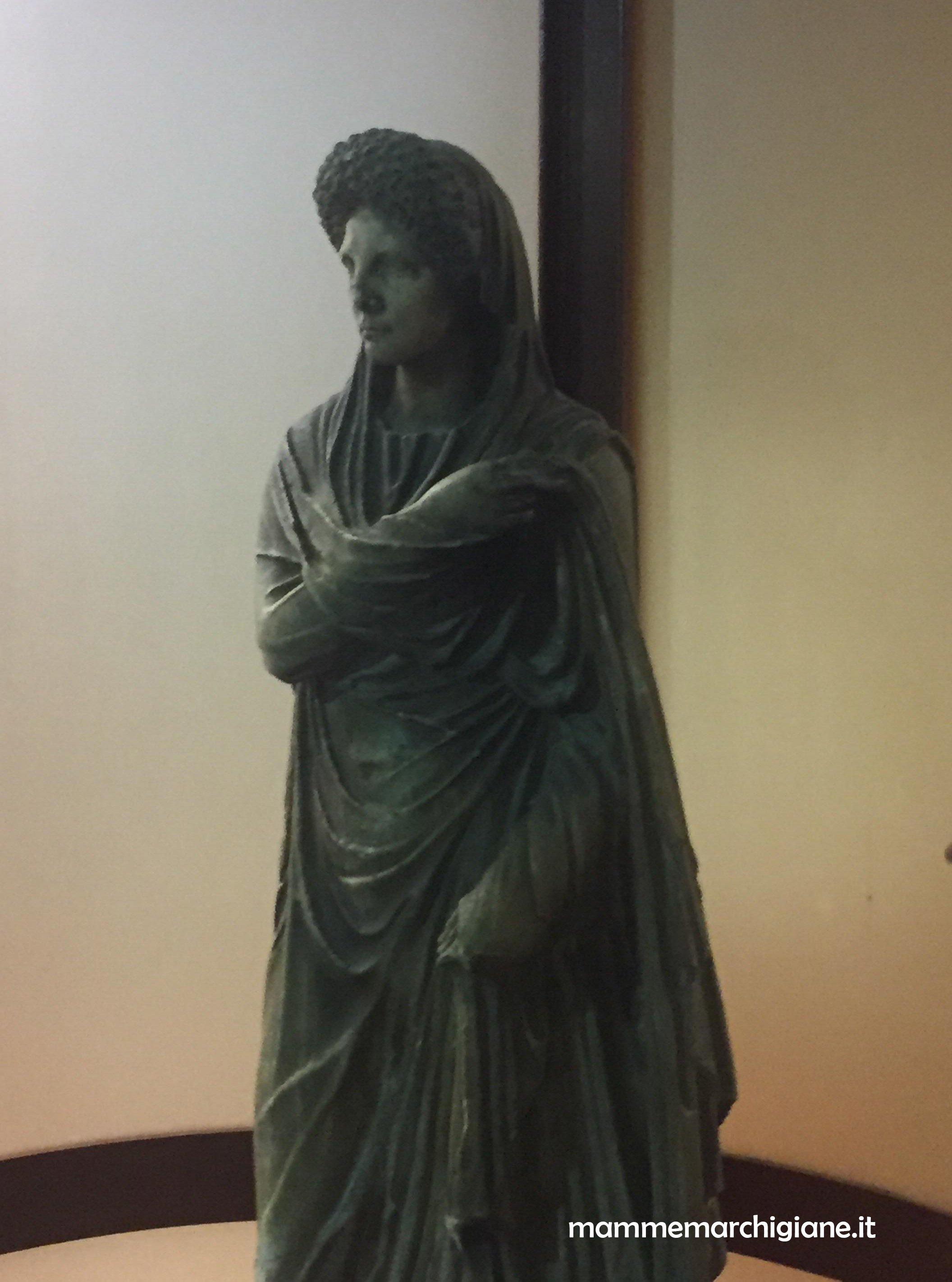 giulia figlia di tito museo archeologico tolentino