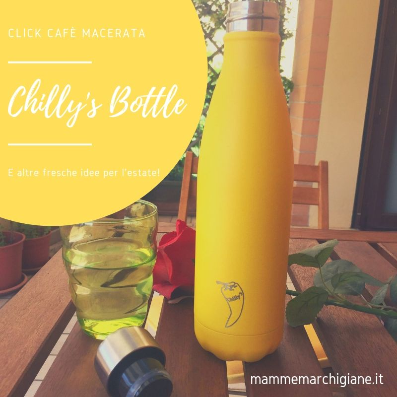 chilly's bottles click cafè macerata