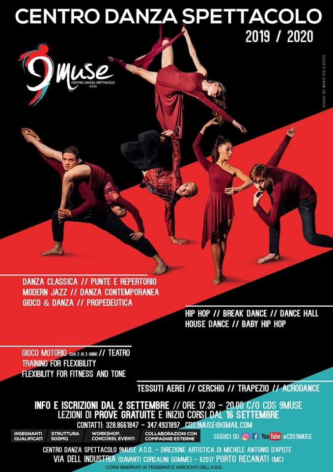 danza 9 muse