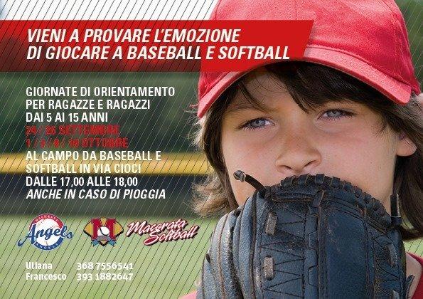 open day baseball softball