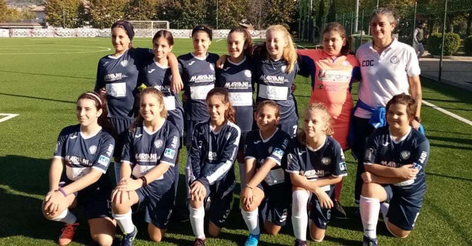 squadra pallone femminile calcio