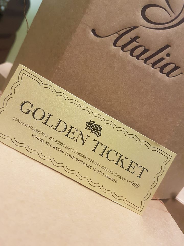 Golden Ticket Fermo Magica