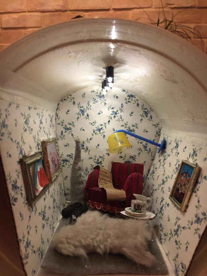 La casetta di Nisse gnomo svedese a Maecerata