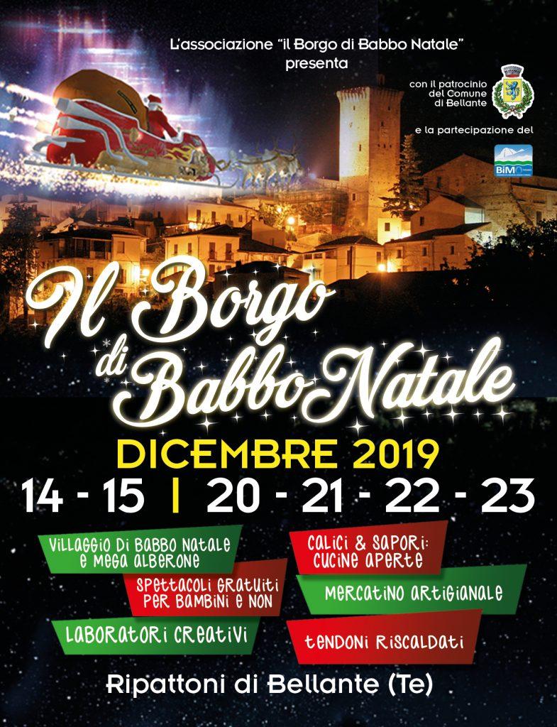 Il Borgo di babbo Natale di Ripattoni, Abruzzo, locandina