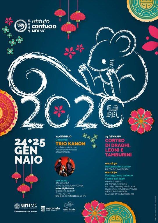 capodanno cinese 2020 Macerata