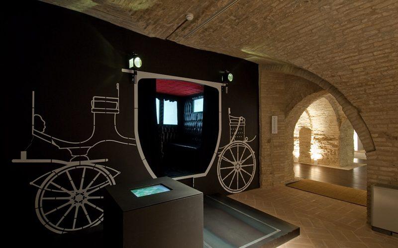 compleanno al museo della carrozza macerata