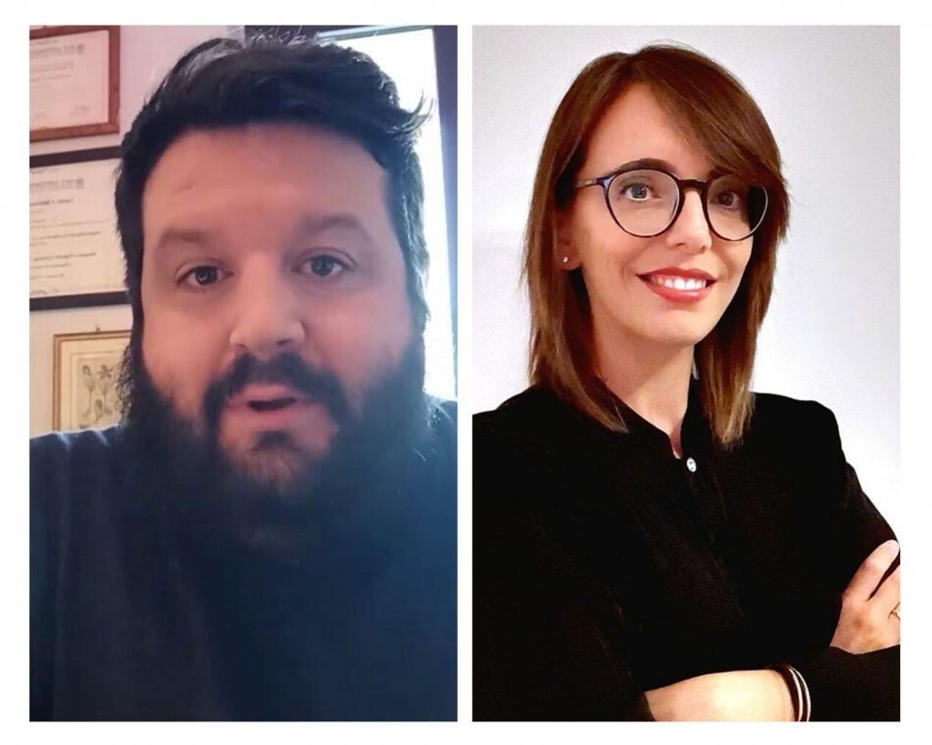andrà tutto bene psicologi Antonio Cervigni e Jessica Lamponi