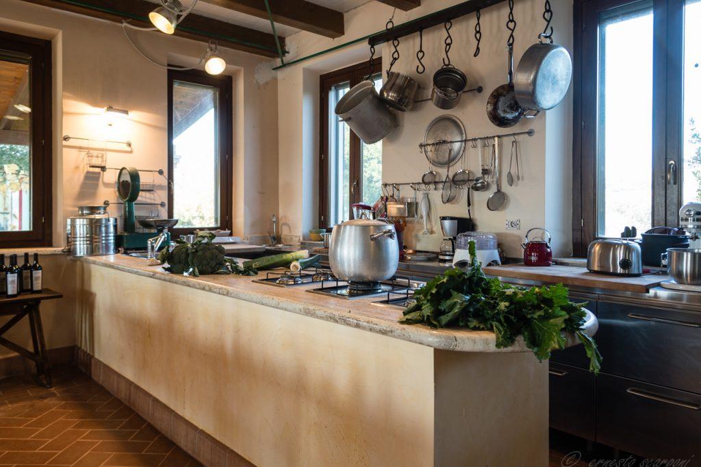 villa acquaviva picena  cucina