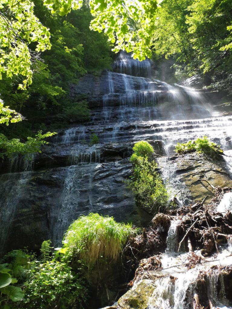 La cascata della Pprata