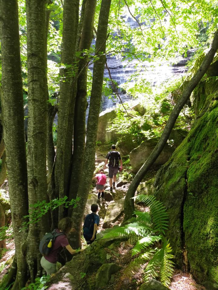 trekking bambini laga nord