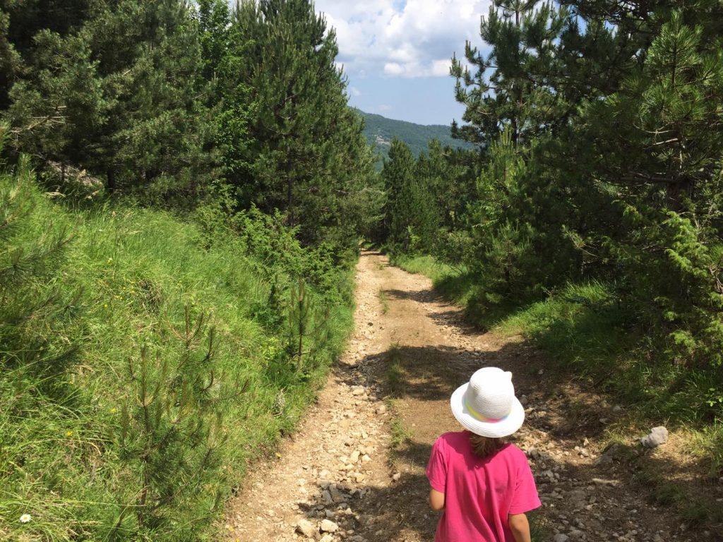 montegallo anello trekking