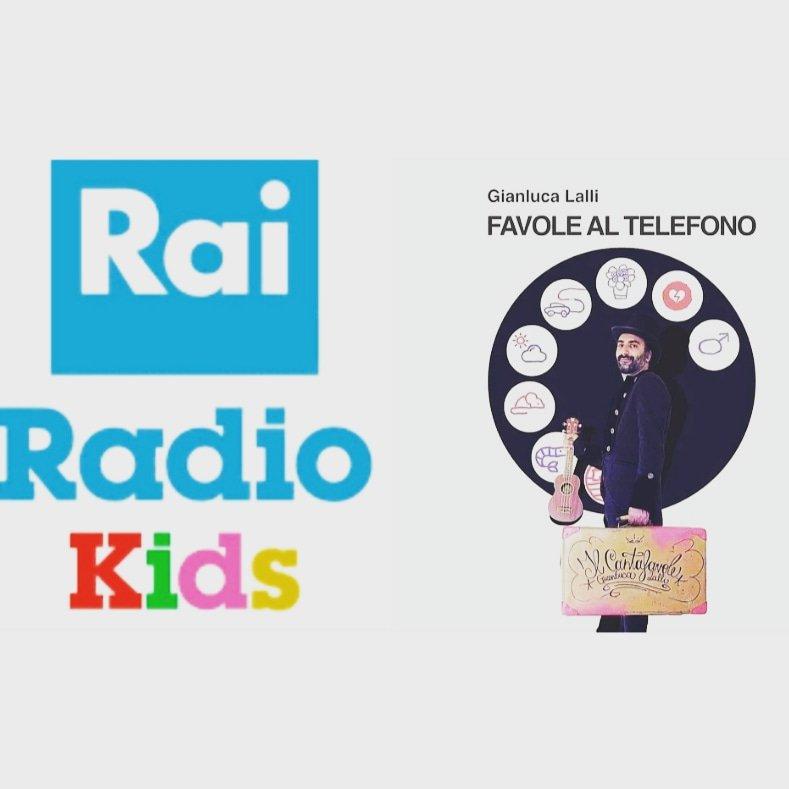 Gianluca Lalli Favole al telefono di Rodari in musica Radio rai