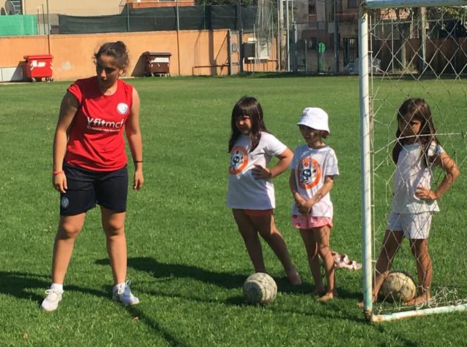 corso di psicomotricità per il calcio femminile macerata