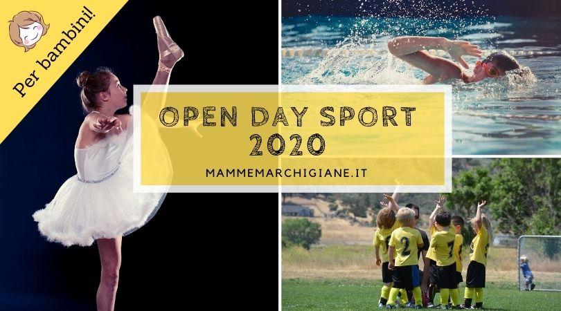 open day sport 2020