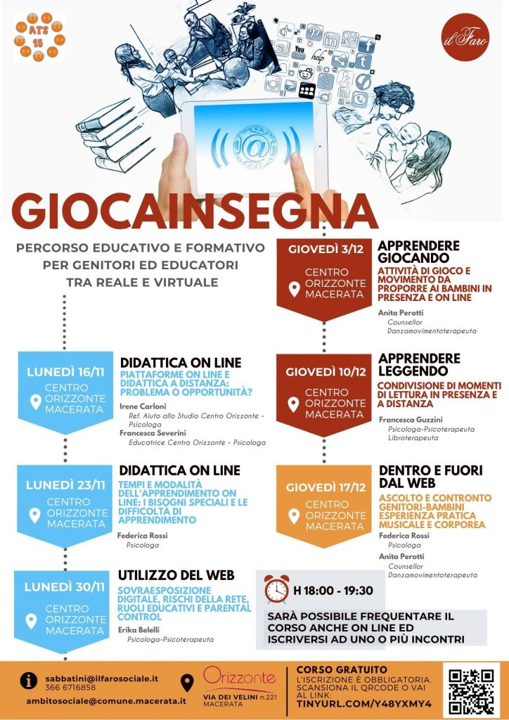 giocainsegna percorso educativo