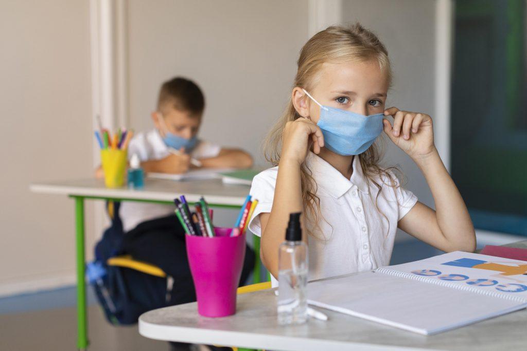 mascherina in classe