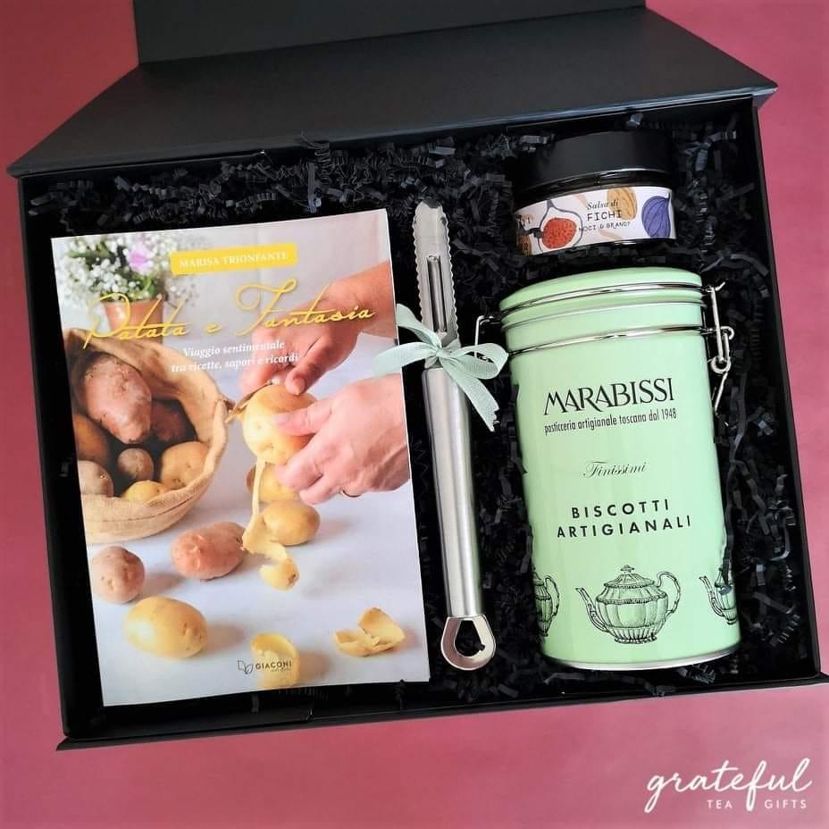 grateful tea gift box, patata e fantasia